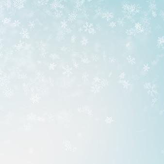 Festlicher winter unscharfer hintergrund.