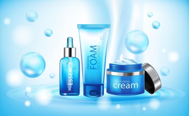 Feuchtigkeitsspendende essenz kosmetische produkte ad