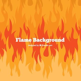 Feuer-hintergrund in abstrakten design