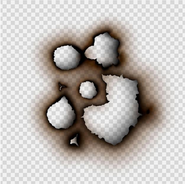Feuer im papier