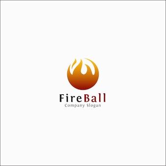 Feuerball logo vorlage