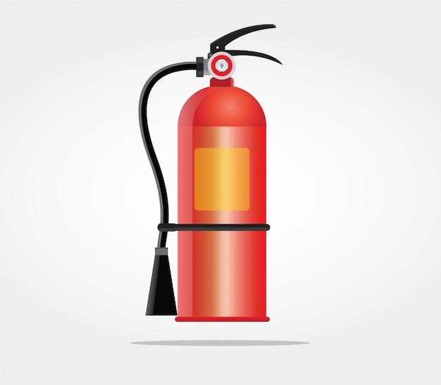 Feuerlöscher.