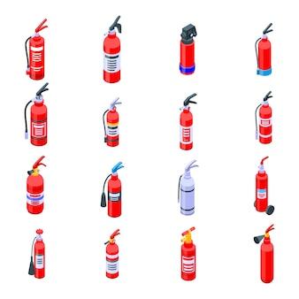 Feuerlöscherikonen eingestellt