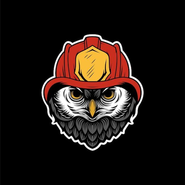 Feuerwehr-maskottchen-design
