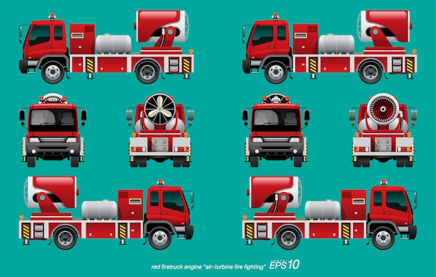 Feuerwehrauto motor