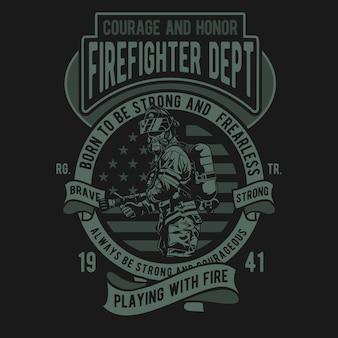 Feuerwehrmann-abteilung