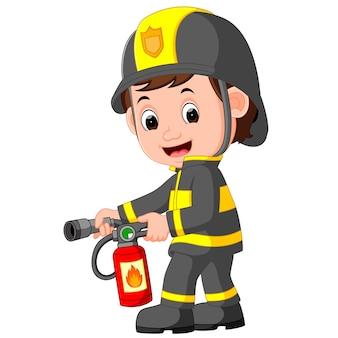 Feuerwehrmann cartoon