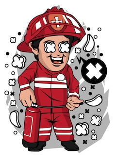 Feuerwehrmann charakter