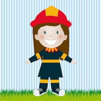Feuerwehrmann frau