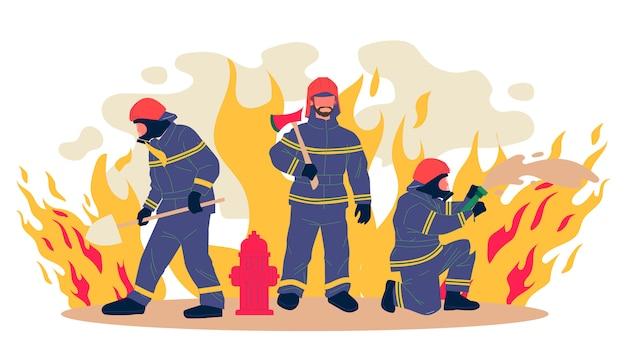 Feuerwehrmann illustration