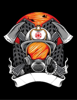 Feuerwehrmann vektor