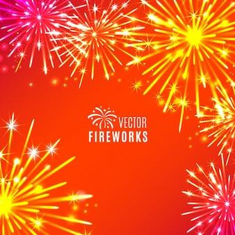 Feuerwerk bacground