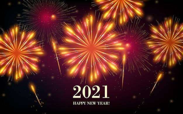 Feuerwerk neujahr 2021