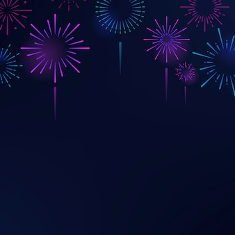 Feuerwerksexplosionshintergrund-designvektor