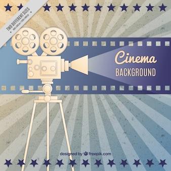 Film-kamera retro-hintergrund