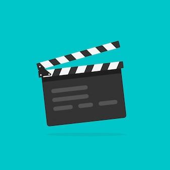 Film über die filmklappe