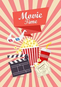Film zeit poster design