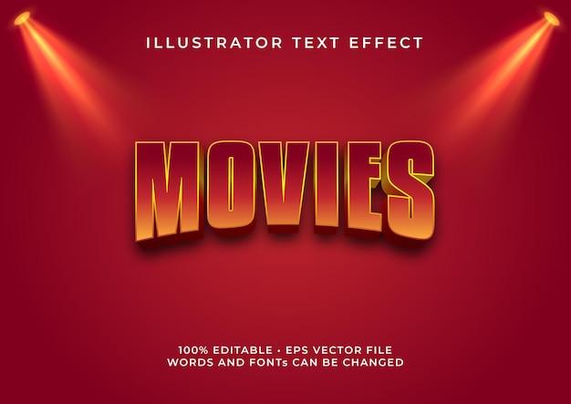 Filme texteffekt