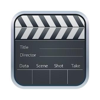 Filmklappe-symbol
