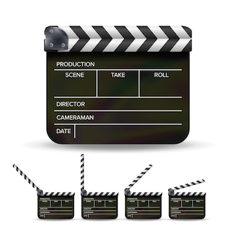Filmklappe.