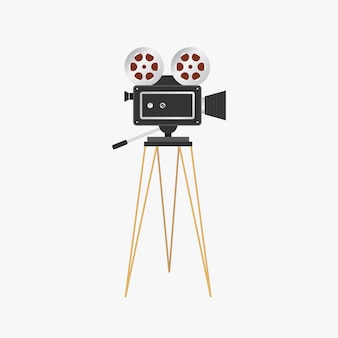 Filmprojektor. vintage kinokamera