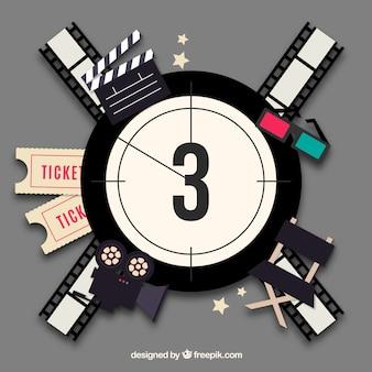 Filmrolle countdown