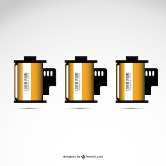 Filmrolle vektor-design kostenlos
