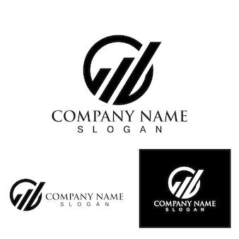 Finanz-logo und symbolvorlage eps10