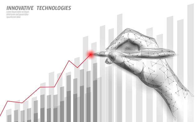 Finanzgeschäftsidee steigert gewinnmarketing