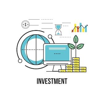 Finanzgeschäftsstrategie zur korporativen wirtschaft