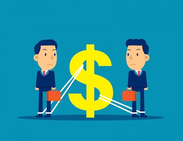 Finanzielle geschäftsangelegenheiten