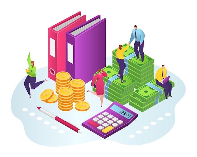 Finanzielle unterstützung, wohltätigkeit, mann gibt dollar und goldmünzen