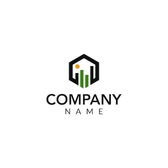 Finanzielles vektor-logo