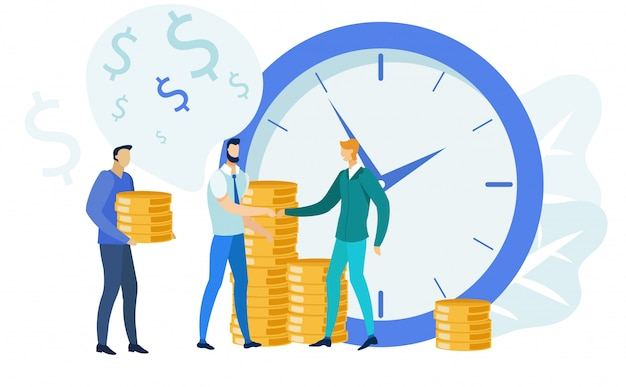 Finanzmanagement, bankwesen illustration