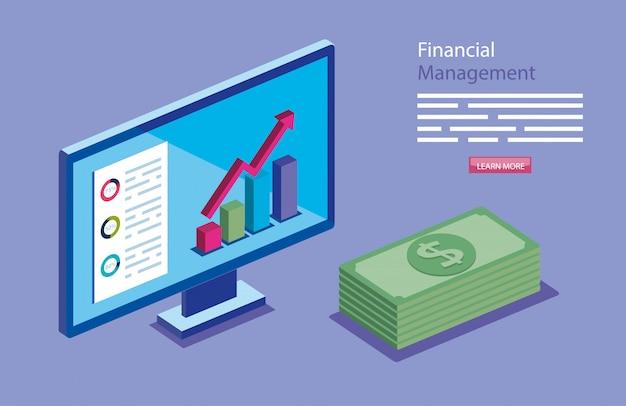 Finanzverwaltung mit computer- und stapelrechnungen
