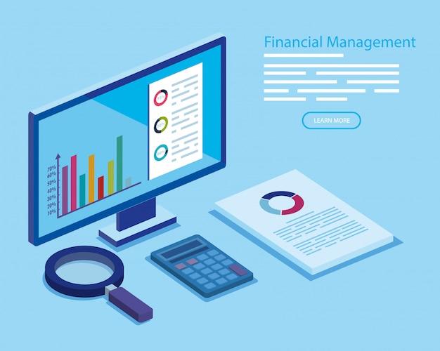 Finanzverwaltung mit computer