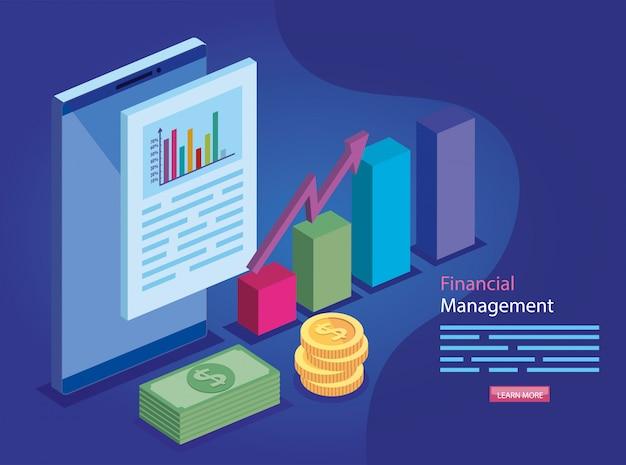 Finanzverwaltung mit dokument