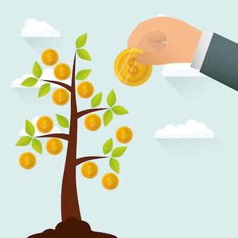 Finanzwachstum design