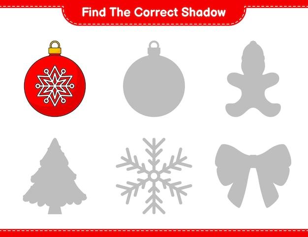 Finde den richtigen schatten finde und kombiniere den richtigen schatten von christmas ball