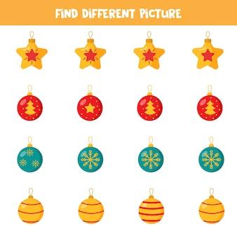 Finde ein bild, das sich von anderen unterscheidet