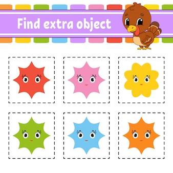Finde zusätzliches objekt.