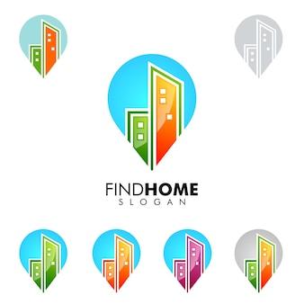 Finden sie home logo