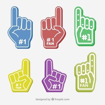 Finger nach oben