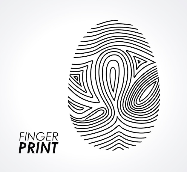Fingerabdruck desi