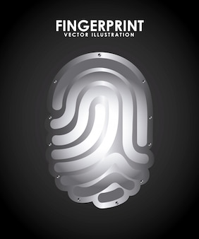 Fingerabdruck-design