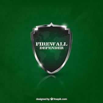 Firewall defender Schild
