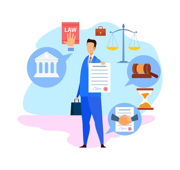 Firmenanwalt