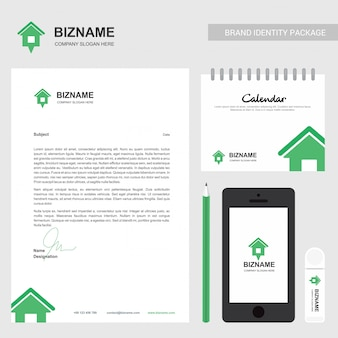 Firmenbroschüre mit firmenlogo und stilvollem design