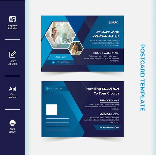 Firmenpostkartenvorlage