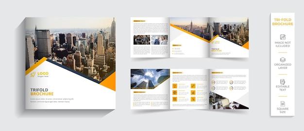 Firmenprofi-design für moderne professionelle bifold-broschüren